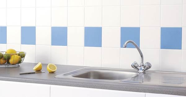 C mo limpiar los azulejos de cocina con facilidad mercaceramica - Como limpiar azulejos ...