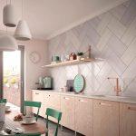 Combinar texturas y cemento en la cocina